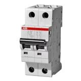 2-полюсные автоматические выключатели