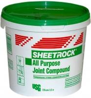 Шпатлевка готовая универсальная Шитрок / SHEETROCK 5 кг
