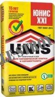 Плиточный клей Юнис XXI / UNIS XXI 25 кг