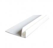 F-профиль 60 для сэндвич панелей белый (3 м)