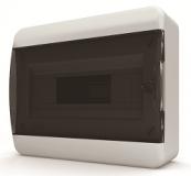 Бокс навесной Tekfor 12 модулей IP40 BNK 40-12-1 (черная прозрачная дверца)