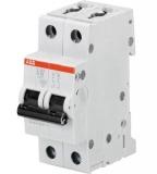Автоматический выключатель ABB 2P  63A S202 C63 6kA