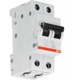 Автоматический выключатель ABB 2P 6A SH202L C6 4.5kA