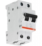 Автоматический выключатель ABB 2P 20A SH202L C20 4.5kA