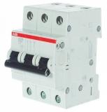 Автоматический выключатель ABB 3P 20A S203 C20 6kA