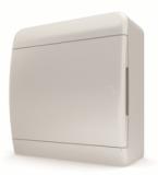Бокс навесной Tekfor 8 модулей IP40 BNN 40-08-1 (белая непрозрачная дверца)