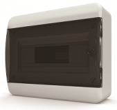 Бокс навесной Tekfor 24 модулей IP40 BNK 40-24-1 (черная прозрачная дверца)