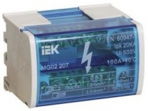 Кросс-модуль на DIN-рейку в корпусе IEK L+PEN 2х15 ИЭК