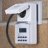 Розетка-таймер Elektrostandard TMH-E-6