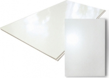 Лист ПВХ белый 1500х3000х1мм, цена за 1 лист