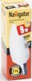 Лампа э/сб Navigator NСL-C35-09-827-E14 теплый 9 Вт