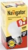 Лампа э/сб Navigator NСL-G45-09-827 теплый 9 Вт
