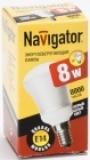Лампа э/сб Navigator NСL-R50-08-830-E14 теплый 8 Вт