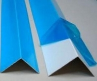 Угол ПВХ белый в защитной пленке 50х50 мм