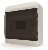 Бокс навесной Tekfor 8 модулей IP40 BNK 40-08-1 (черная прозрачная дверца)