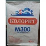 Пескобетон Колорит М300 40 кг