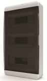 Бокс навесной Tekfor 36 модулей IP40 BNK 40-36-1 (черная прозрачная дверца)