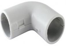 Угол разборный 25 мм (гофра, труба)