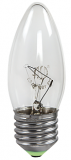 Лампочка электрическая СВЕЧА Е27 прозрачная 60 Вт