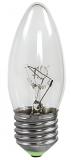 Лампочка электрическая СВЕЧА Е27 прозрачная 25 Вт