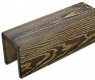 Фальшбалка Лиственница 75х75х75 / эмали, цена за 1 метр