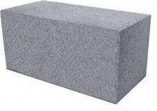 Пескоцементный блок полнотелый фундаментный 390х190х188мм