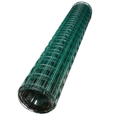 Сетка сварная ПВХ 50х50х1.8 мм, рулон 1.5х20м, цена за 1 рулон
