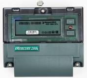 Счетчик электроэнергии 1-фазный Меркурий 200.02 220V 5(60)