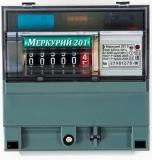 Счетчик электроэнергии 1-фазный Меркурий 201.05 220V 5(60)