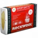 Звукоизоляция Роквул Флор Баттс П-125 1000х600х50мм, 4 плит, 2.4 м2