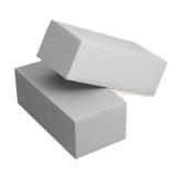 Кирпич силикатный одинарный белый 250х120х60мм