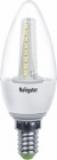 Лампа светодиодная Navigator C35-3.5-230-4k-E14 FR (холодный свет, матовая, 3.5 Вт, 230В)