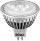 Лампа светодиодная Navigator MR16-4-12-4k-GU5.3-30D (4 Вт - 12В)