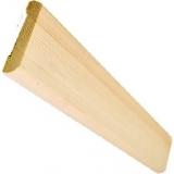 Наличник деревянный 80х14х2200мм бессучковый массив Сосна, цена за 1 шт