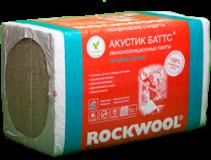 Звукоизоляция Роквул Акустик Баттс П-50 1000х600х50мм, 10 плит, 6 м2