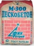 Пескобетон Финстрой М-300