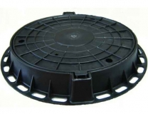 Люк полимерный 75 см Чёрный
