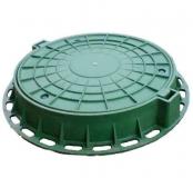 Люк полимерный 75 см Зеленый