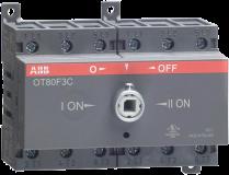 Реверсивный рубильник ABB OT80F3С 80А без ручки 3х-полюсной