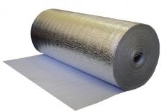 Изолайн фольгированный самоклеющийся 10 мм, ширина 0.6 м, рулон 9 м2