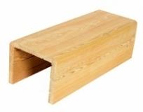 Фальшбалка Лиственница 75х75х75 / некрашенная, цена за 1 метр
