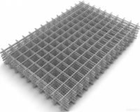 Сетка в картах сварная для железобетонных конструкций, размер: 1.5х2м, ячейка: 115х115, толщина 3.5 мм