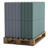 Пазогребневая плита Стандарт Кнауф (ПГП) 667х500х80мм