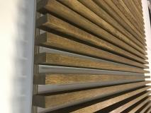 Декоративная интерьерная рейка 30х50, Дуб, цена за 1 м. п.