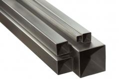 Труба профильная квадратная 25х25х2 мм, цена за 1 метр