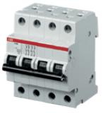Автоматический выключатель ABB 4P 63A S204 C63 6kA