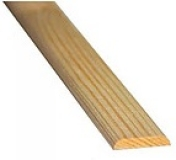 Раскладка деревянная 50 мм Сосна б/с клеенная, цена за 1 м. п.