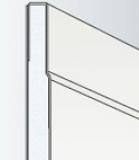Гипсокартон (ГКЛ с утоненной кромкой) Гипрок Стандарт / GYPROK, размер: 1200х2500х9.5 мм