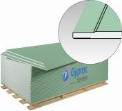 Гипсокартон Гипрок Аква Стронг / GYPROK Аква Стронг, размер: 1200х2500х15 мм