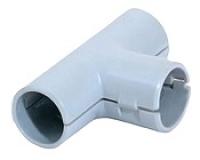 Тройник разборный 25 мм (гофра, труба)